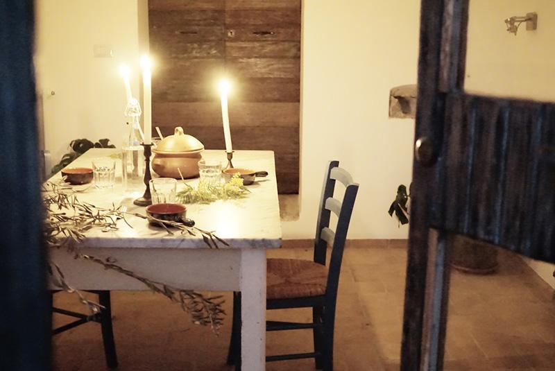 Esperienze al casale: la degusteria